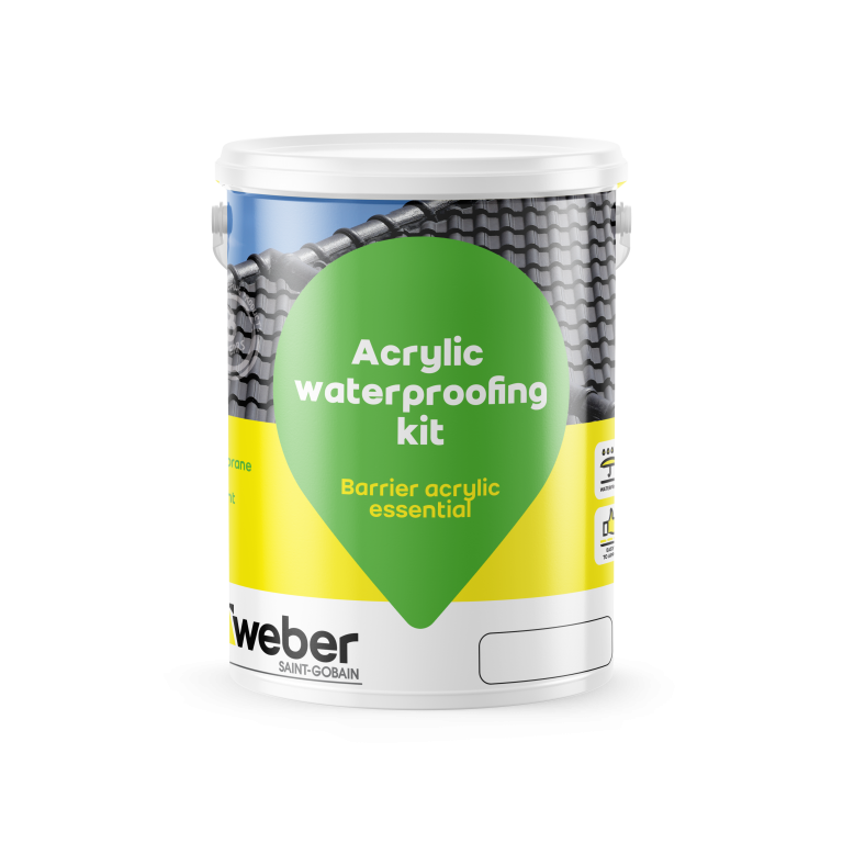 Weber Barrier acrylic essential