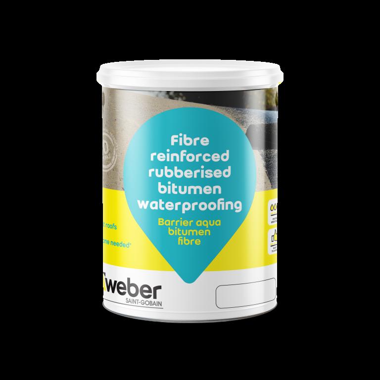Barrier Aqua bitumen fibre
