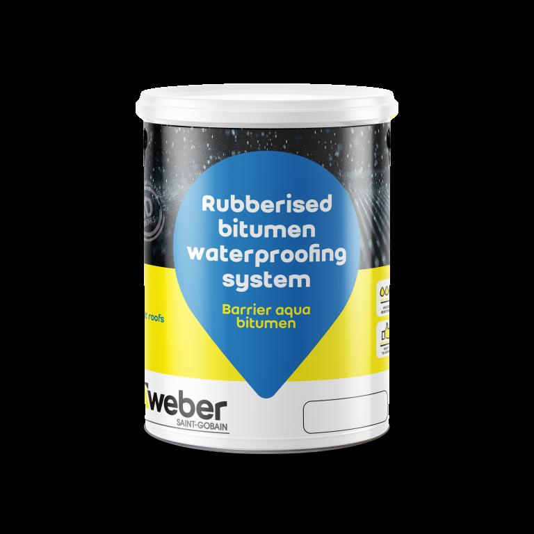Weber Barrier Aqua bitumen