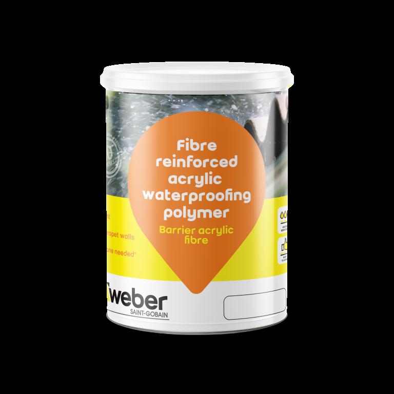 Weber Barrier acrylic fibre