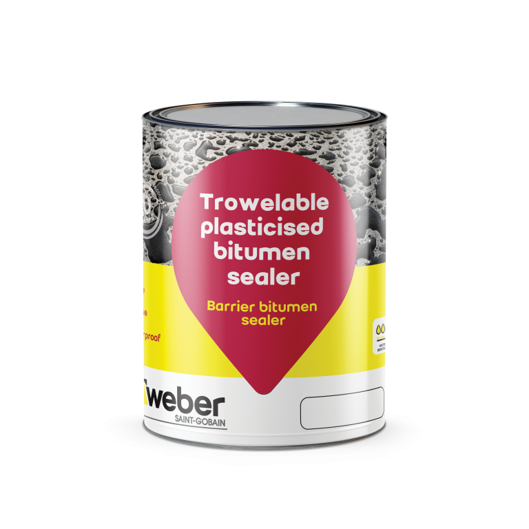 Weber Barrier bitumen sealer